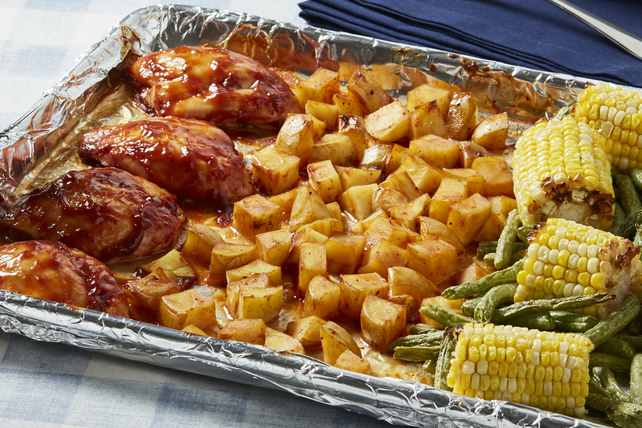 Carolina BBQ Chicken & Roasted Vegetables Image 1