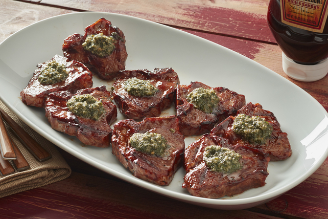 BBQ Lamb Chops with Mint Pesto Image 1