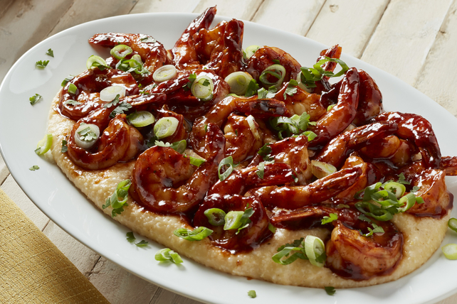 Barbecue Shrimp and Grits Image 1