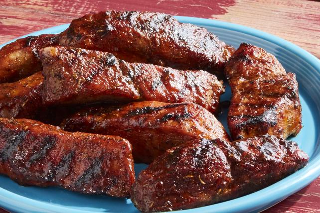 Carolina Country-Style BBQ Pork Ribs Image 1