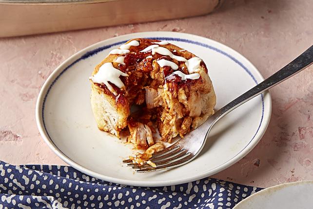 BBQ Chicken 'Cinnamon Rolls' Image 1