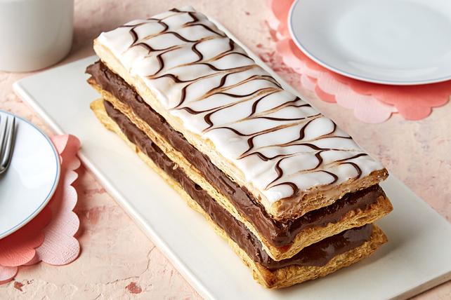 Millefeuille aux deux chocolats Image 1