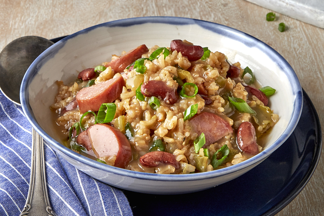 Pressure-Cooked Red Beans and Rice Image 1