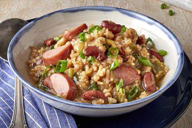 Haricots rouges et riz cuits sous pression Image 1