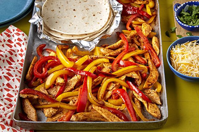 Fajitas au poulet Tex Mex tout-en-un Image 1