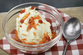Ranch Ice Cream with Vegetable