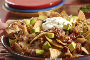 Loaded Turkey Nachos