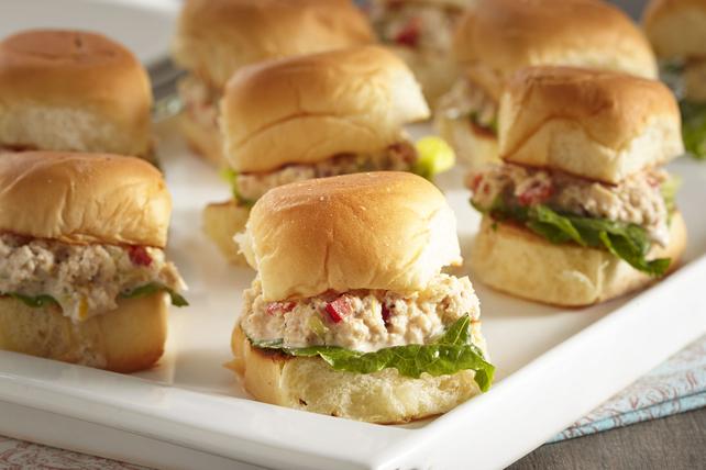 Mini-sandwichs au crabe Image 1