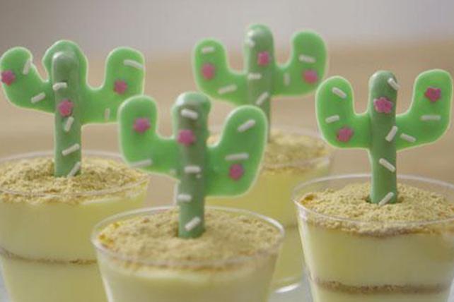 Coupes de pouding cactus Image 1
