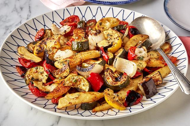 Légumes rôtis à la grecque Image 1