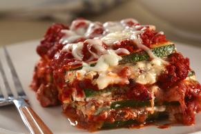 Zucchini Lasagna with Ground Turkey