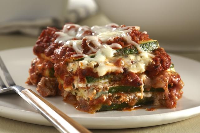 Lasagne aux courgettes et à la dinde hachée Image 1