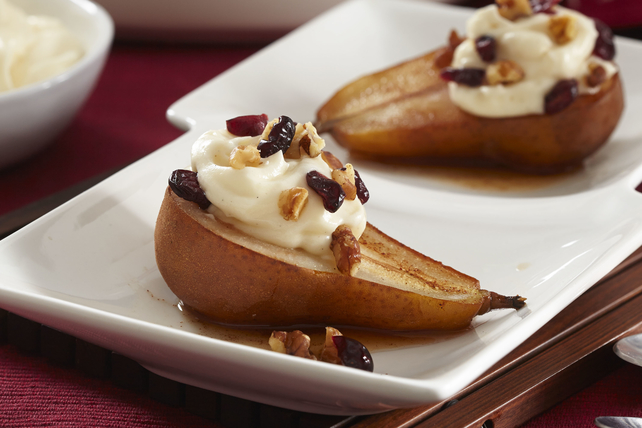 Poached Pear Dessert Image 1