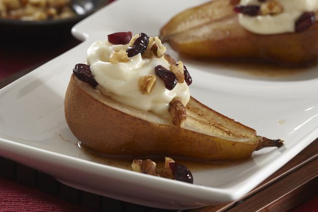 Dessert aux poires pochées Image 1