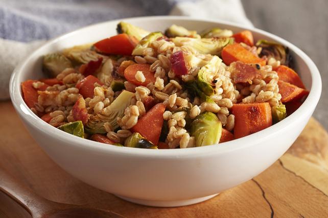 Salade de légumes rôtis et d'épeautre Image 1