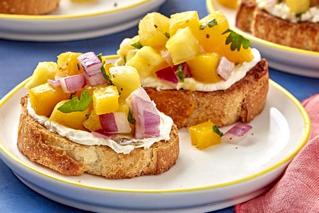 Pineapple-Mango Toast Image 1