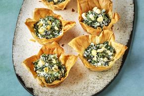 Spinach & Feta Tarts (Spanakopita)