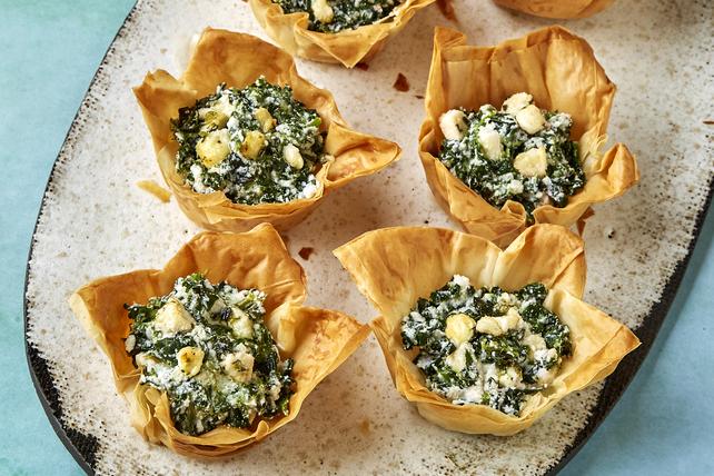 Tartelettes aux épinards et au féta Image 1