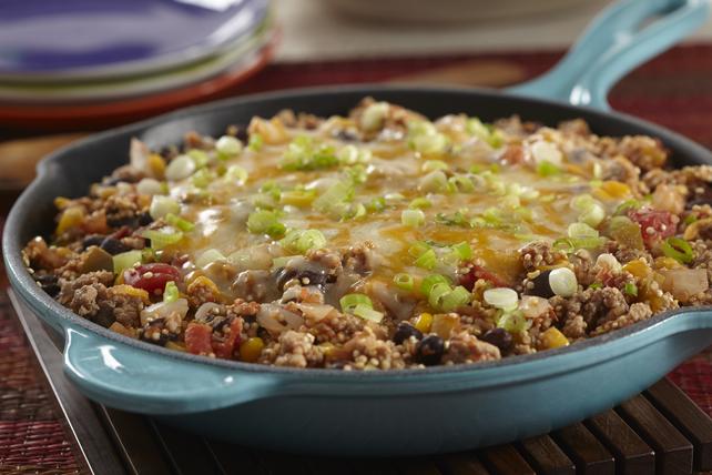 Poêlée de quinoa et de dinde à la mexicaine Image 1