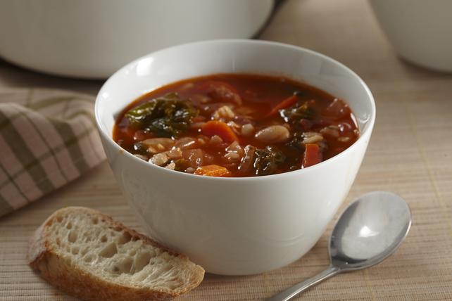 Soupe au chou frisé et à l'orge Image 1