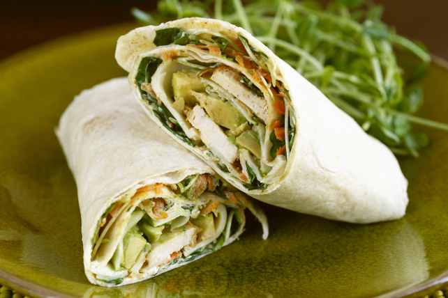 Chicken & Avocado Wraps Image 1