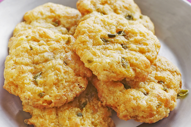 Savoury Cheddar-and-Herb Brunch Biscuits Image 1