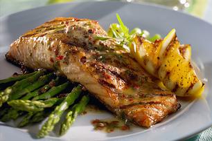 Recettes pour le saumon au barbecue kraft canada - Sauce pour saumon grille barbecue ...