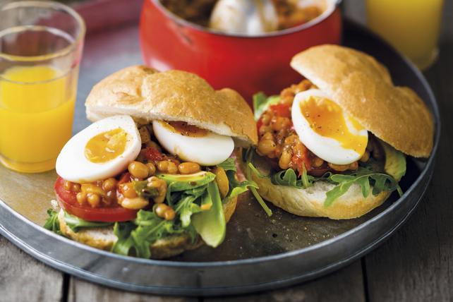 Mexican Brunch Sandwiches Image 1