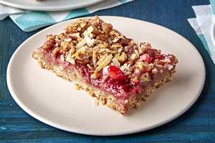 Strawberry-Oat Bars