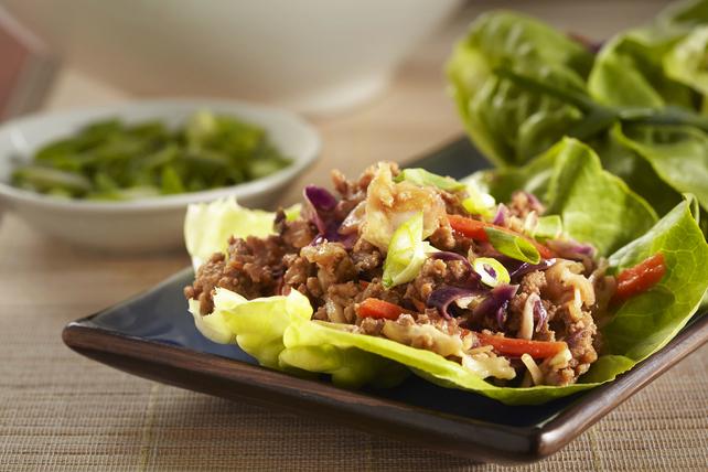 Moo Shoo Turkey Lettuce Wraps Image 1