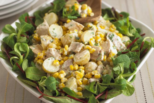 Salade de pommes de terre sucrée et savoureuse Image 1