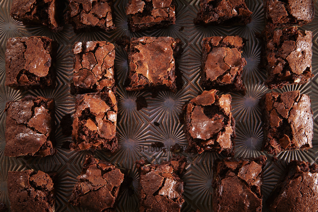 Cocoa Chewy Brownie Recipe Image 1