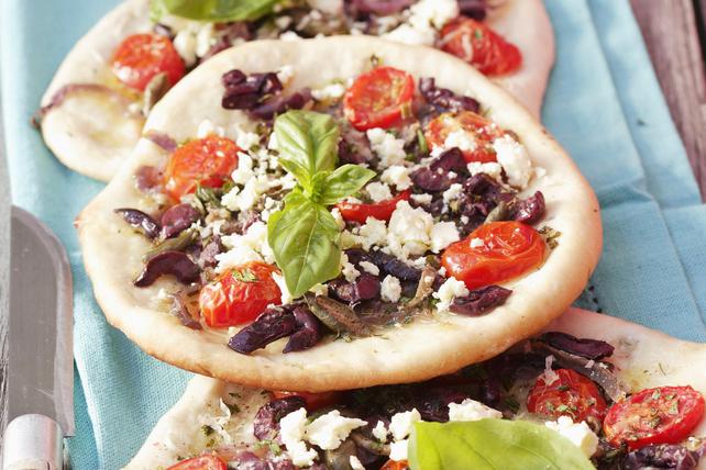 Pains plats à la grecque Image 1