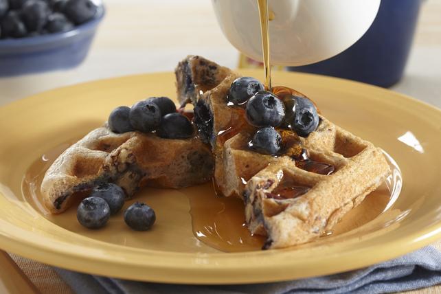 Pecan-Blueberry Waffles Image 1