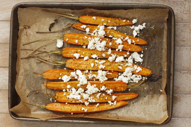 Carottes rôties au poivre et au féta Image 1