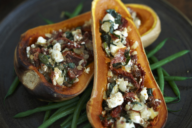 Stuffed Butternut Squash with Feta Image 1
