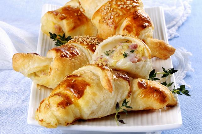 Croissants fourrés au jambon et au fromage Image 1