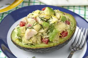 Tuna-Stuffed Avocado
