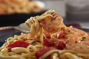 Shrimp Linguine Pasta Image 2