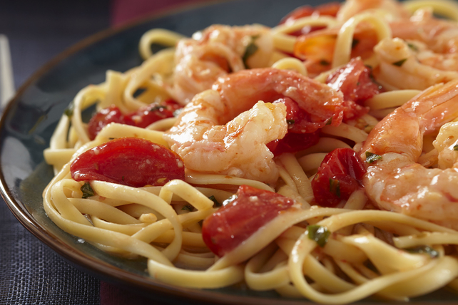 Linguines aux crevettes Image 1
