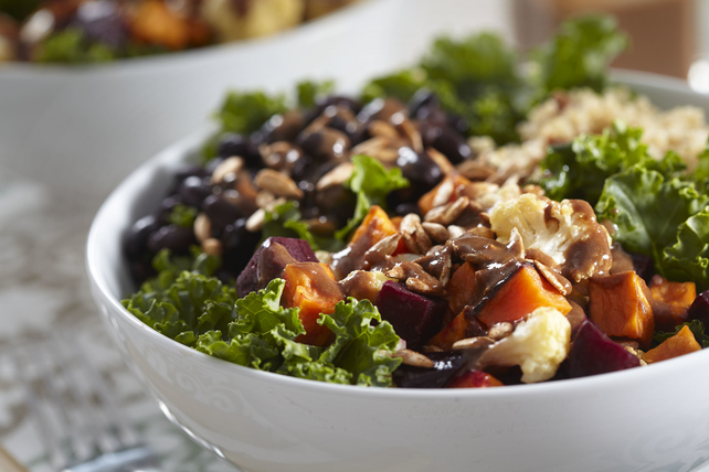 Roasted Vegetable Buddha Bowl Image 1