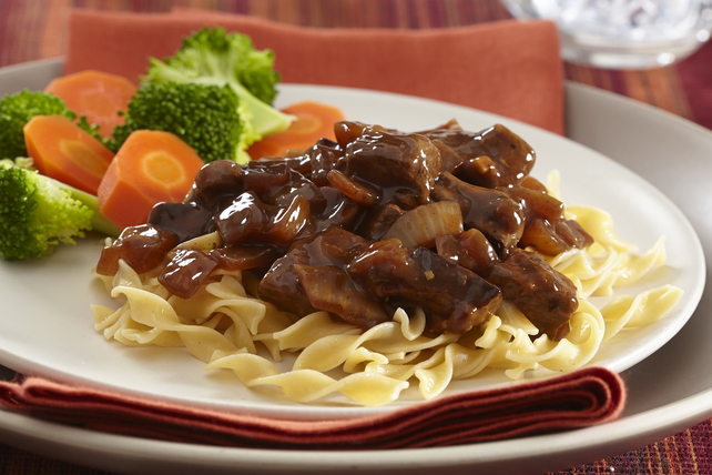 Beef Tips & Noodles Image 1