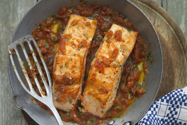 Spicy Salmon Skillet Image 1
