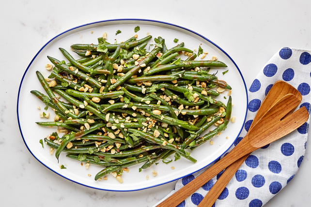 Asian Fresh Green Bean Salad Image 1