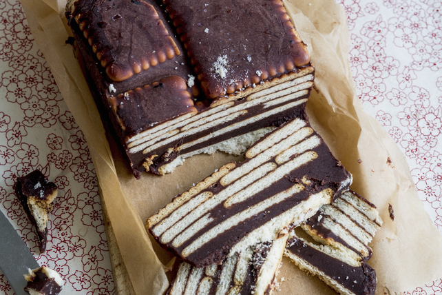 "Chocolate Biscuit ""Cake"" Image 1"