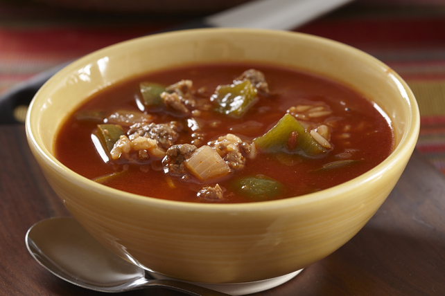 Soupe aux poivrons farcis Image 1