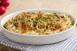 Baked Caramelized Onion & Cheese Dip