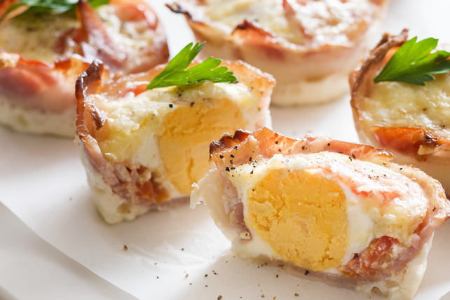 Egg Drop Breakfast Cups Image 1