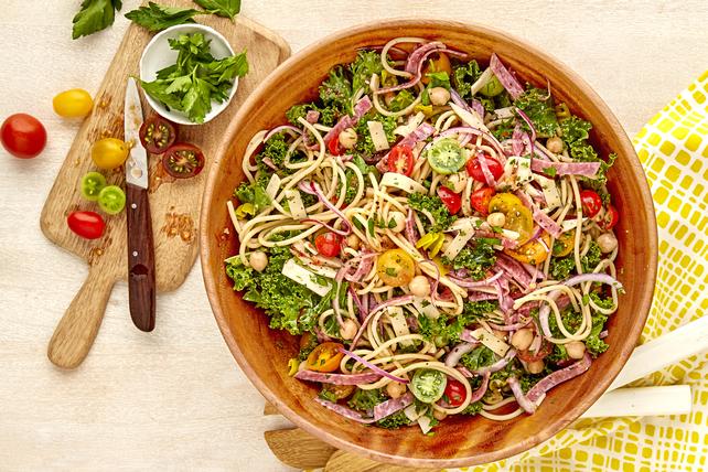 Salade de pâtes façon sous-marin italien Image 1