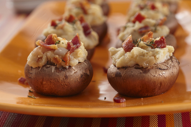 Mashed Potato Stuffed Mushrooms Image 1